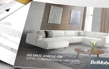 Katalog Polstermöbel Ismaning Belmoba Werbeagentur Firebird
