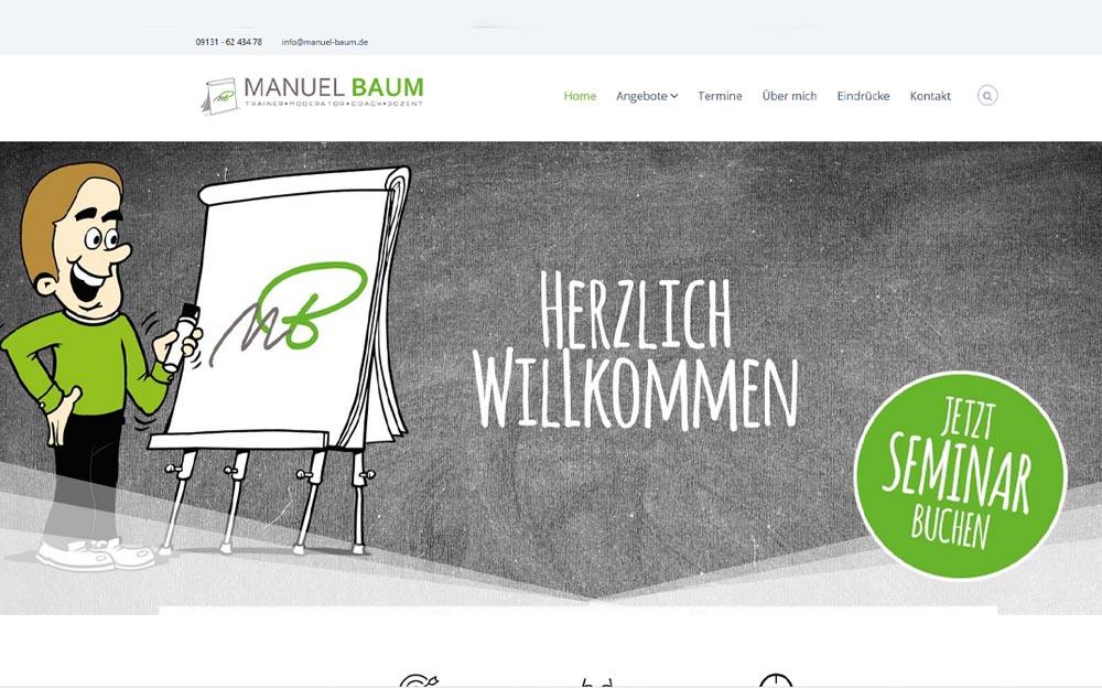 Trainer • Moderator • Coach • Dozent - Manuel Baum